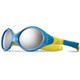 Julbo Looping III Spectron 4 Sunglasses Baby 2-4Y Blue/Yellow-Gray Flash Silver